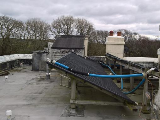Converting Cold Roof To Warm Roof In Bude Cornwall R M Polymers