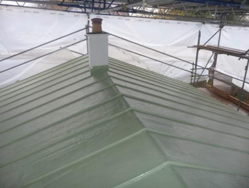 High Spec Alternative To Copper Roof Copper Shingles Copper Paint R M Polymers