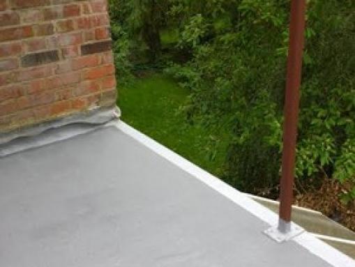 Putney Balcony Refurbished In Mid Grey Quartz London Sw15